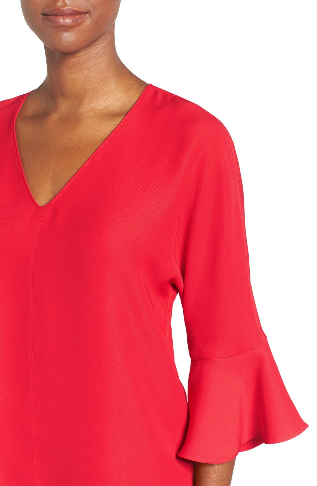 Alternate Image 4  - Pleione Bell Sleeve V-Neck Top