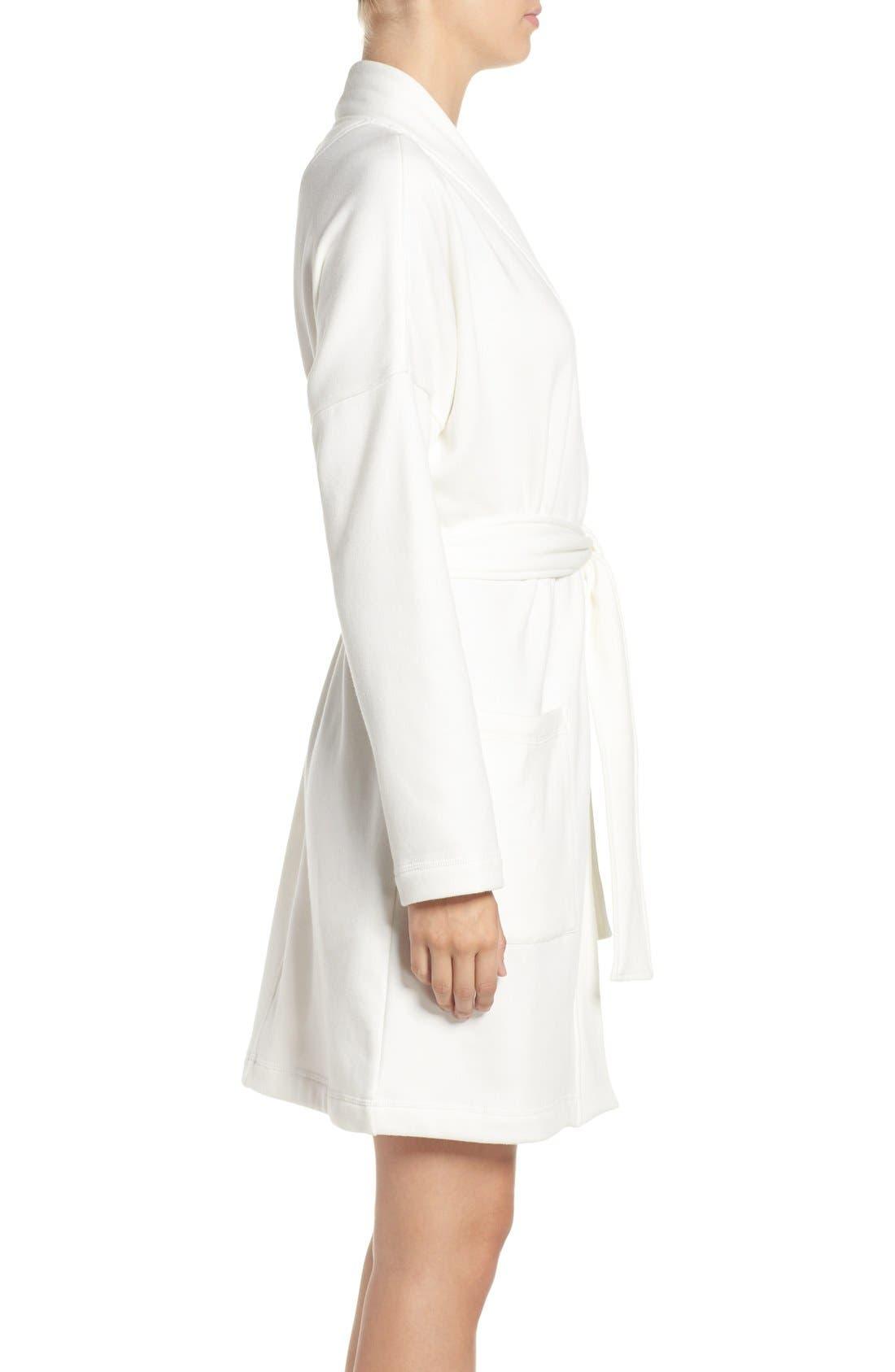 Alternate Image 3  - UGG® 'Braelyn' Fleece Robe