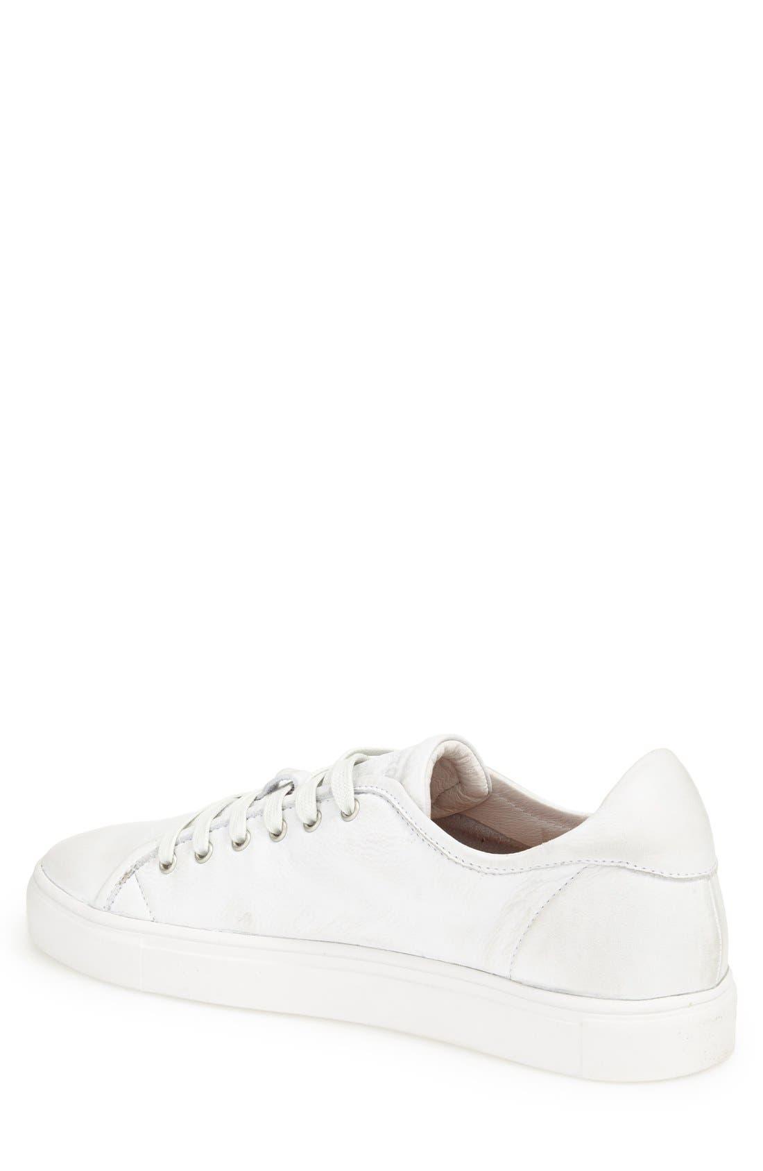 Blacktone 'LM24' Sneaker,                             Alternate thumbnail 2, color,                             White
