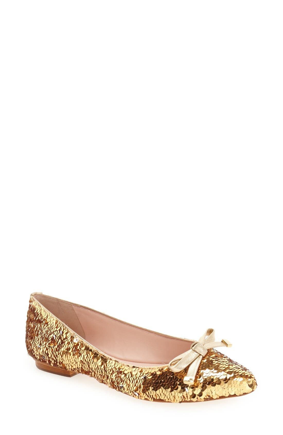 Main Image - kate spade new york 'emma too' pointy toe flat (Women)