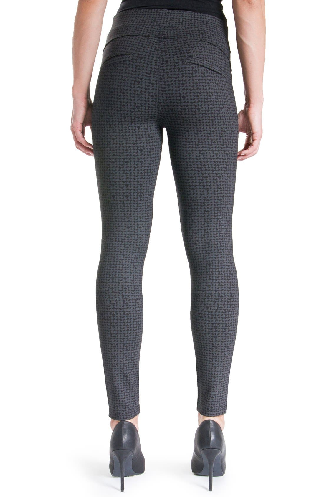 'Quinn' Leggings,                             Alternate thumbnail 2, color,                             Charcoal