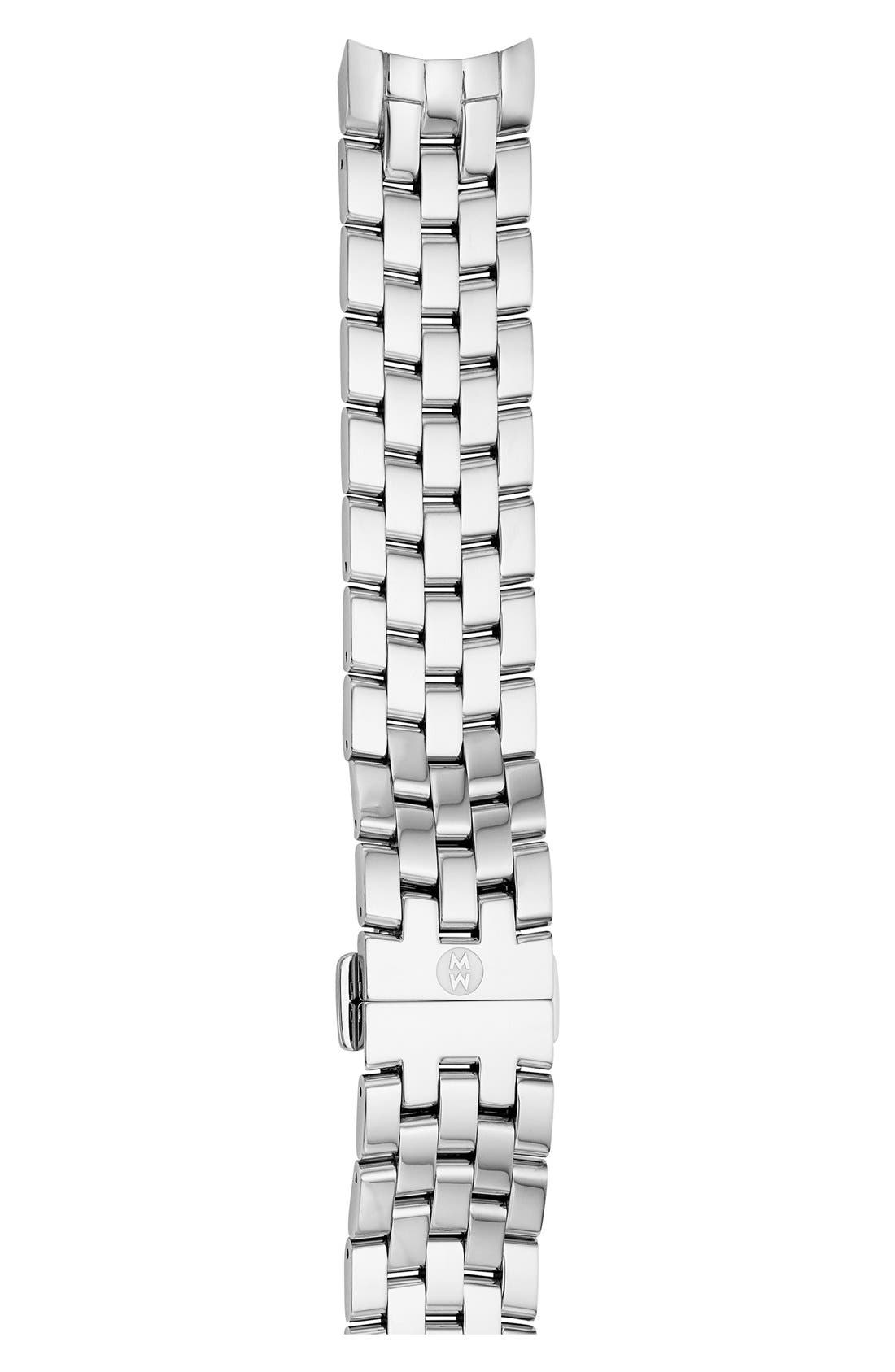Alternate Image 1 Selected - MICHELE 18mm Belmore Bracelet Watch Band