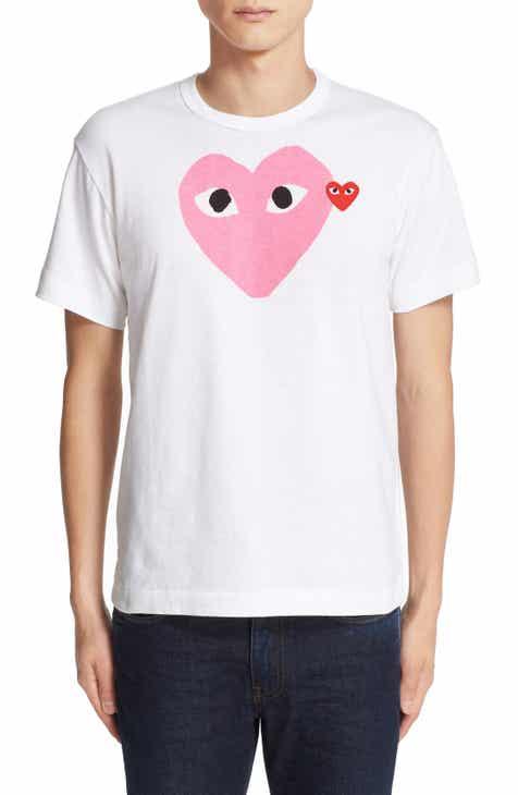 d4102626aa6e Comme des Garçons PLAY Heart Print T-Shirt