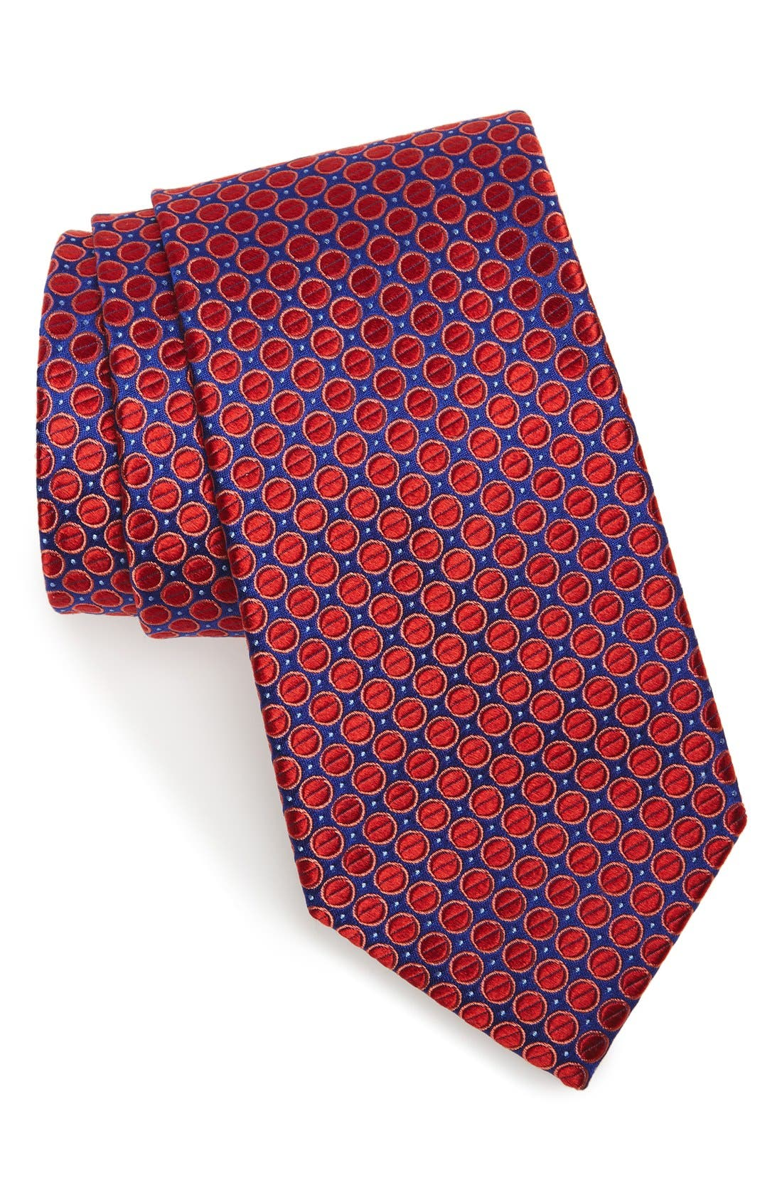 Nordstrom Men's Shop Circle & Dot Silk Tie
