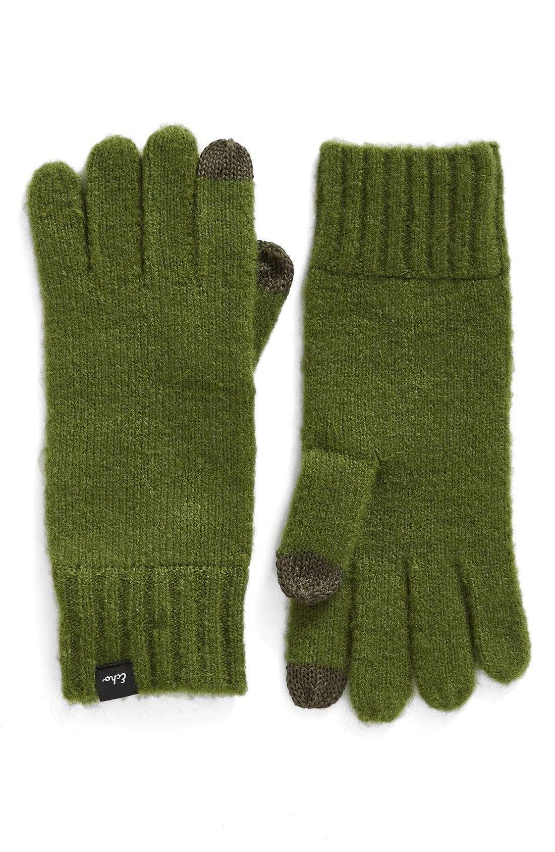 Main Image - Echo 'Touch' Stretch Fleece Tech Gloves