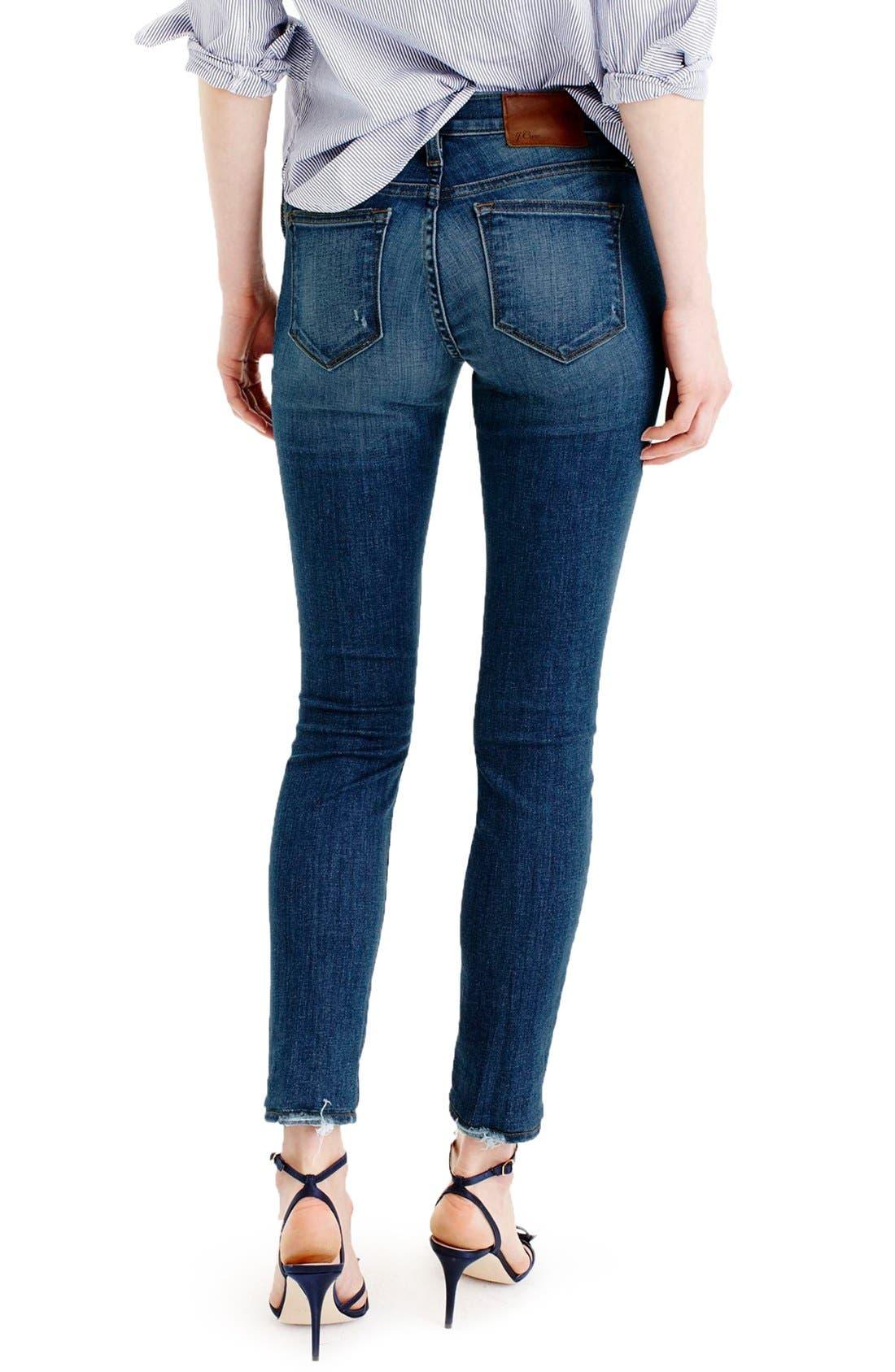 Alternate Image 3  - J.Crew Toothpick Jeans (Pamona) (Regular & Petite)