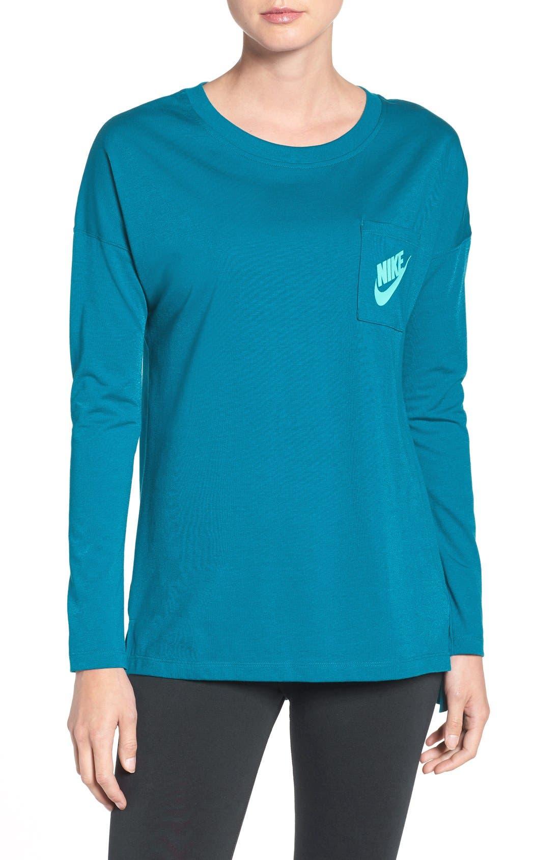 Main Image - Nike 'Signal' Long Sleeve Tee