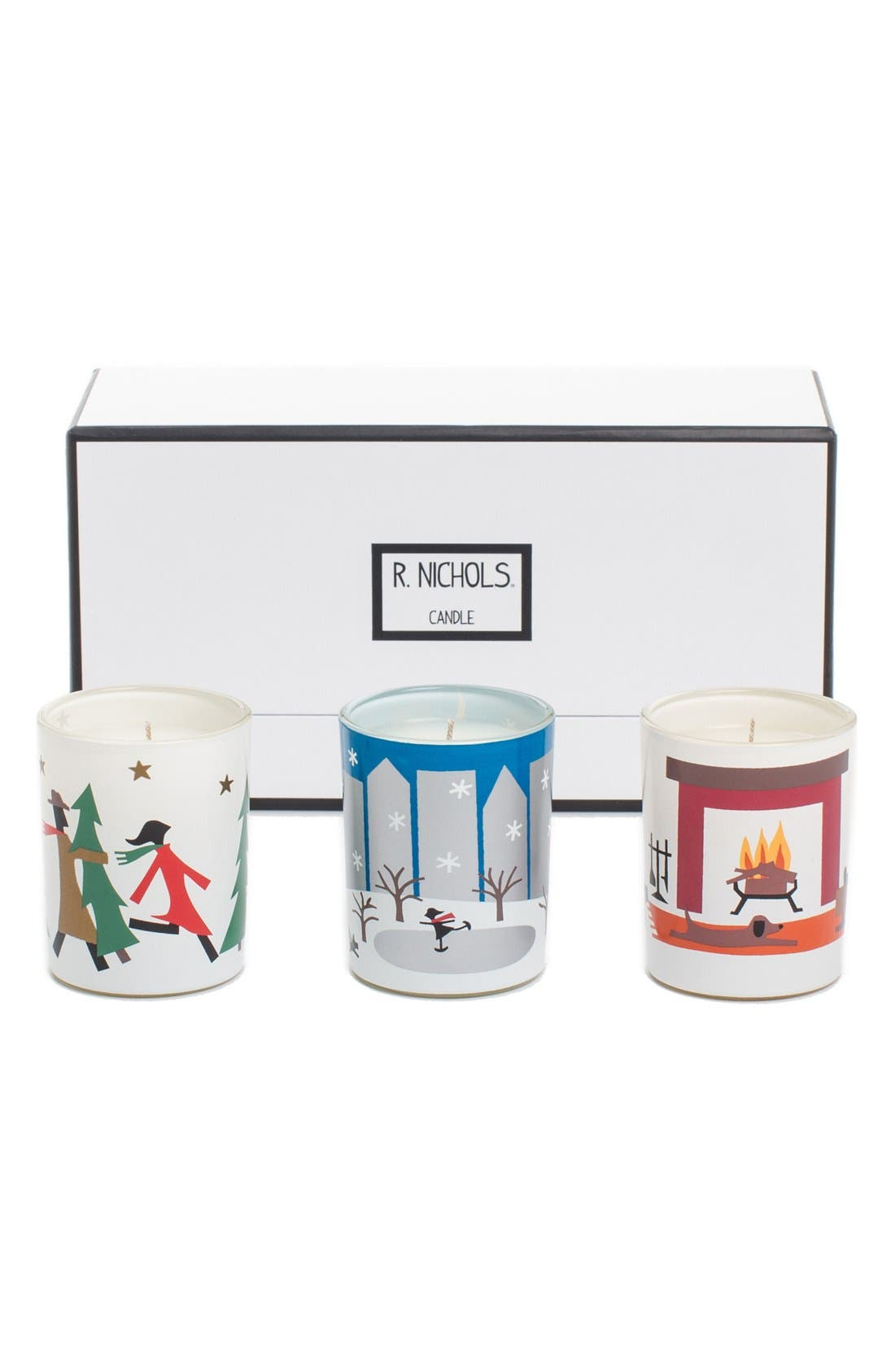 R. Nichols Scented Votive Candle Trio