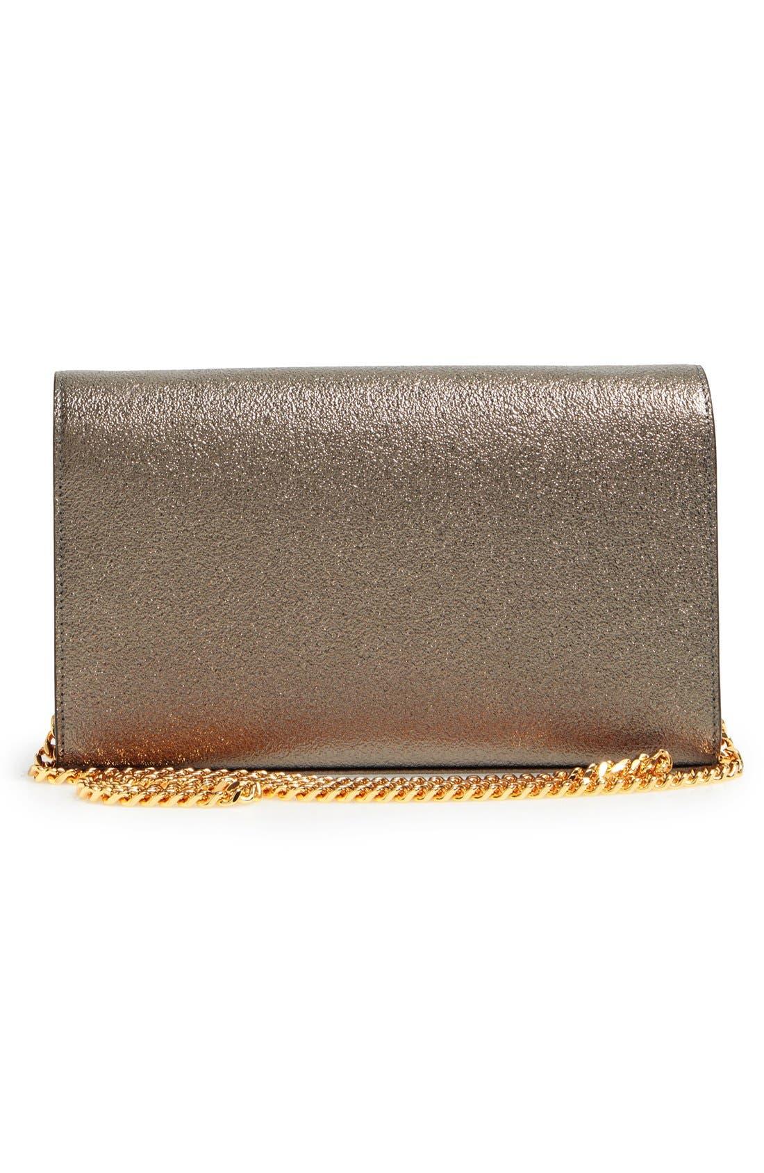 Alternate Image 3  - Saint Laurent Leather Wallet on a Chain