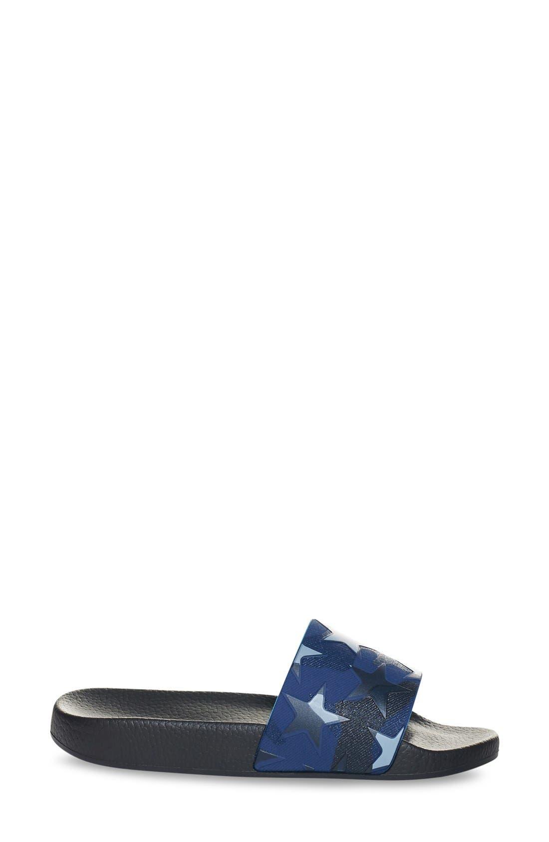 Alternate Image 4  - Valentino Star Print Sport Sandal (Women)