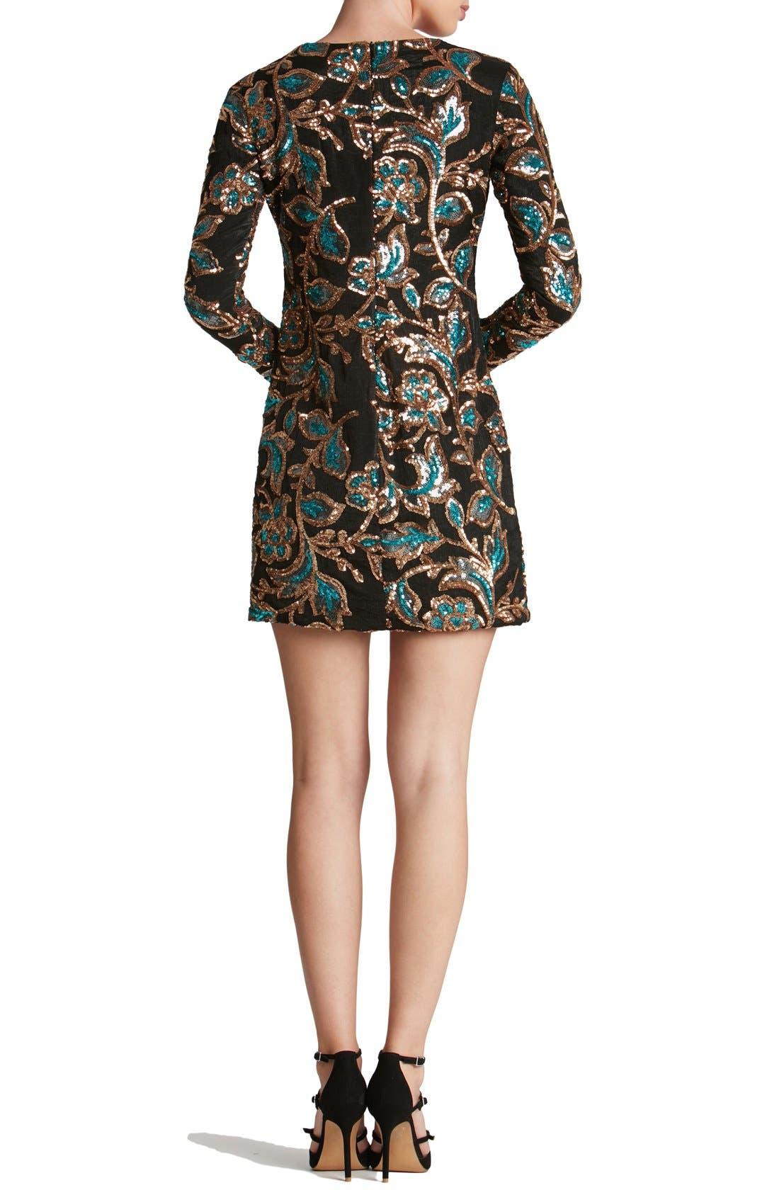 Alternate Image 2  - Dress the Population 'Naomi' Sequin Minidress