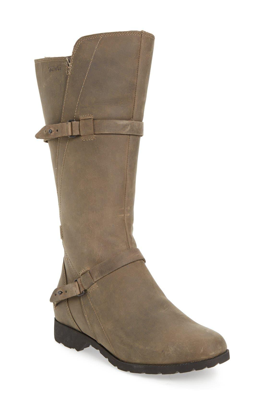 Alternate Image 1 Selected - Teva 'De La Vina' Waterproof Riding Boot (Women)