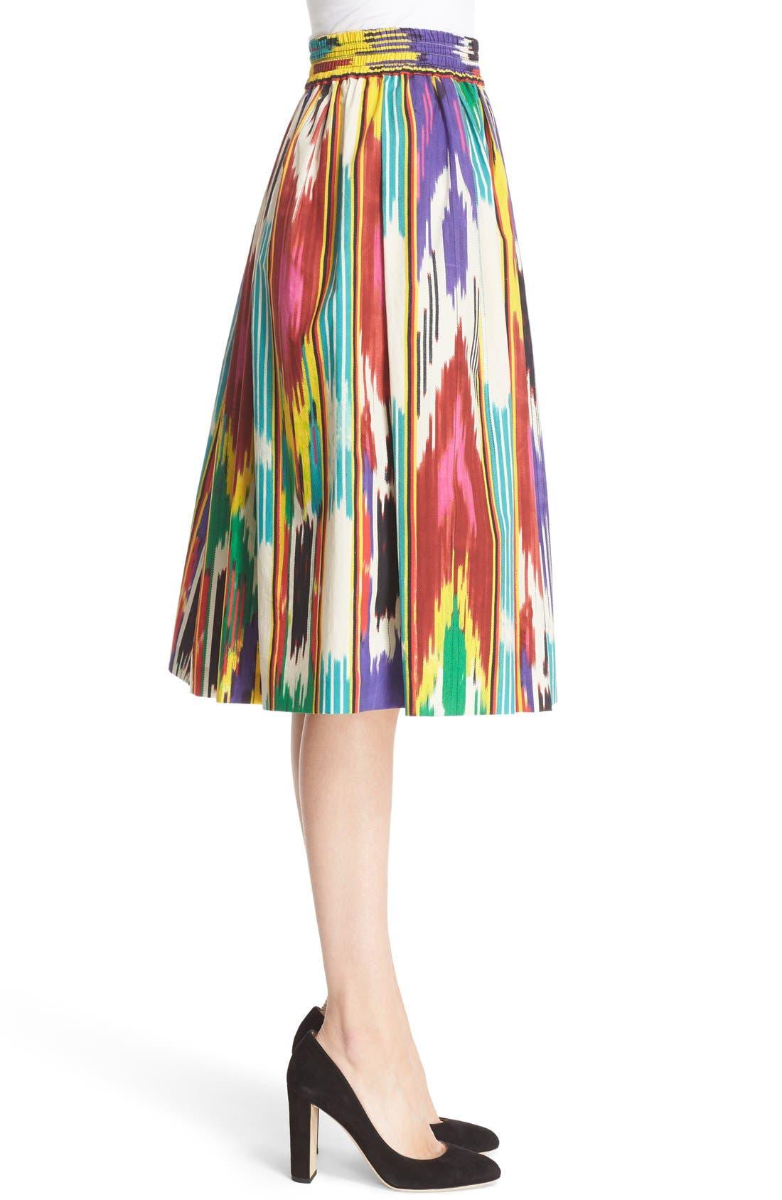 Alternate Image 5  - Etro Ikat Print Skirt