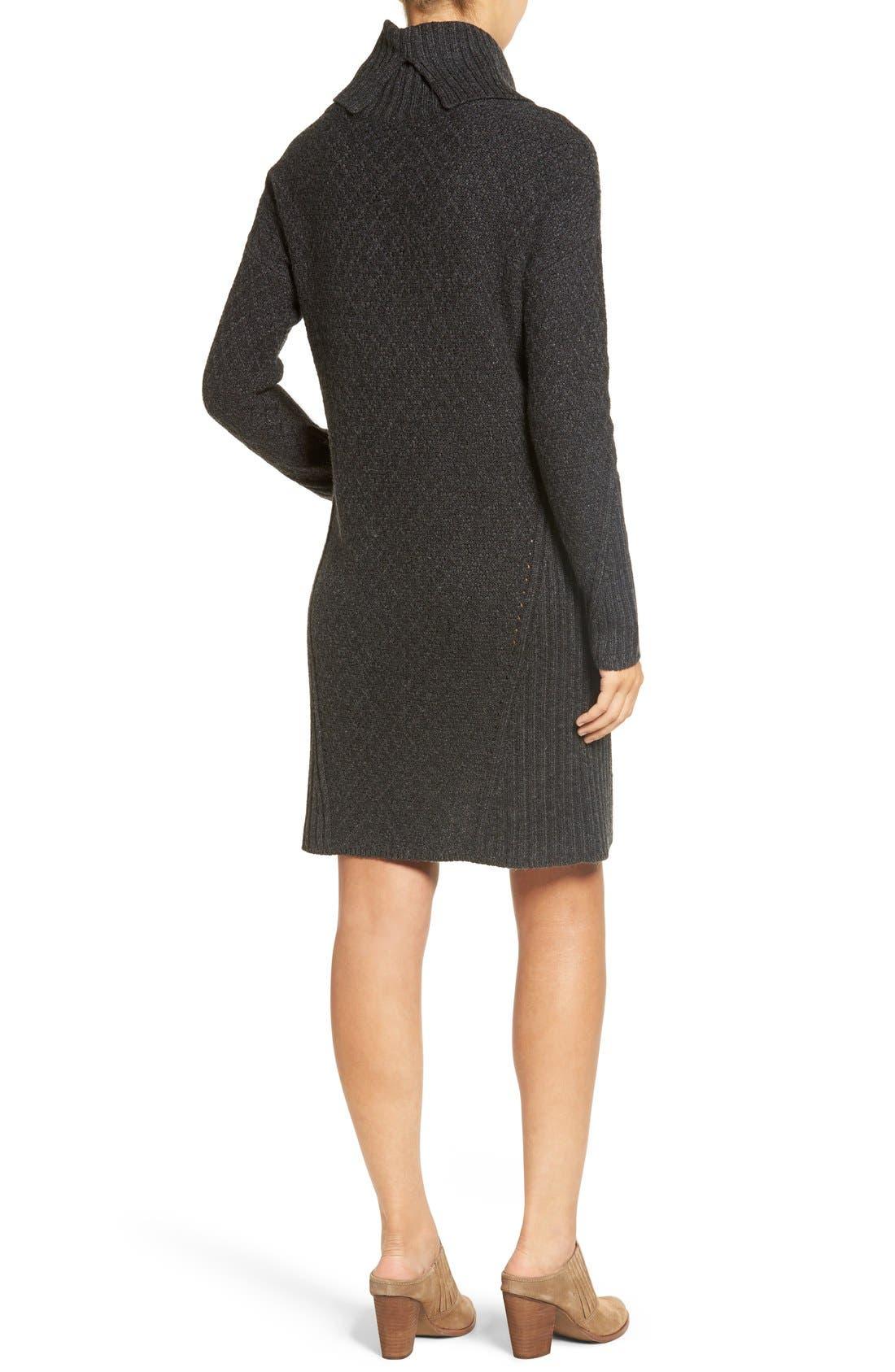 Alternate Image 2  - Treasure&Bond Turtleneck Sweater Dress