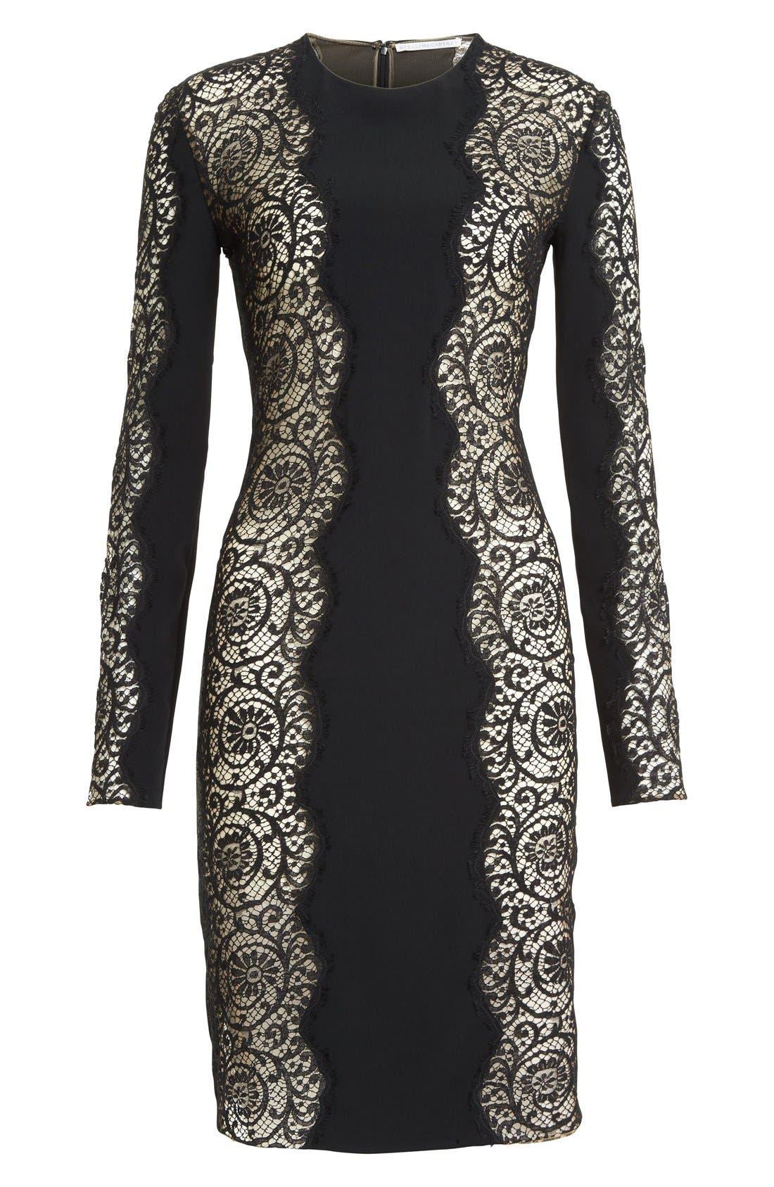 Alternate Image 4  - Stella McCartney Charlie Lace Dress