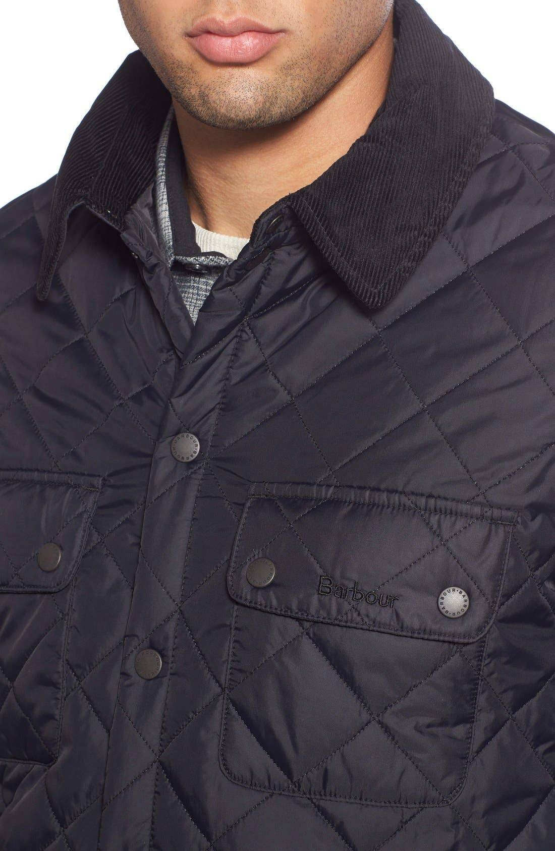Alternate Image 4  - Barbour 'Akenside' Regular Fit Quilted Jacket