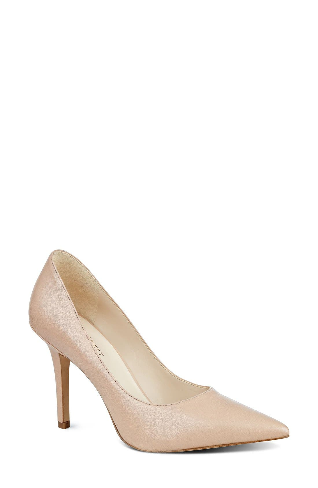 Alternate Image 1 Selected - Nine West 'Jackpot' Pointy Toe Pump (Women)