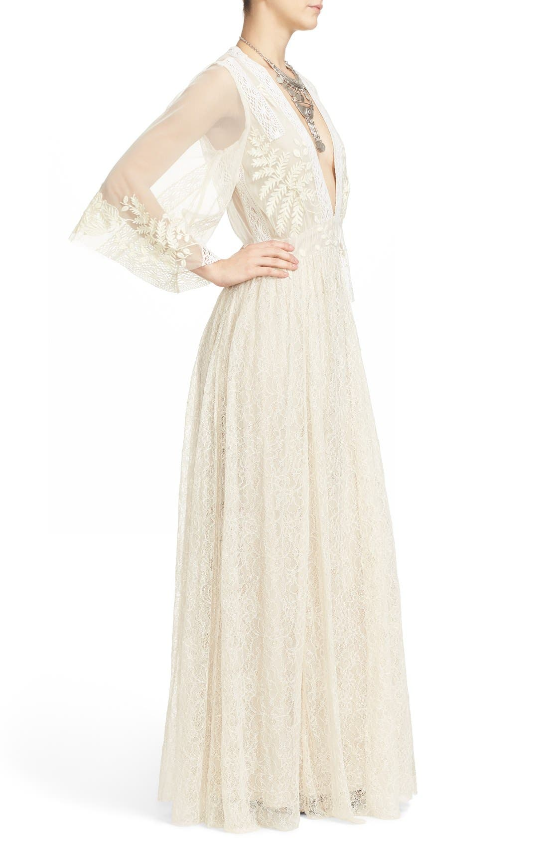 Alternate Image 4  - Free People Eclair Embroidered Maxi Dress