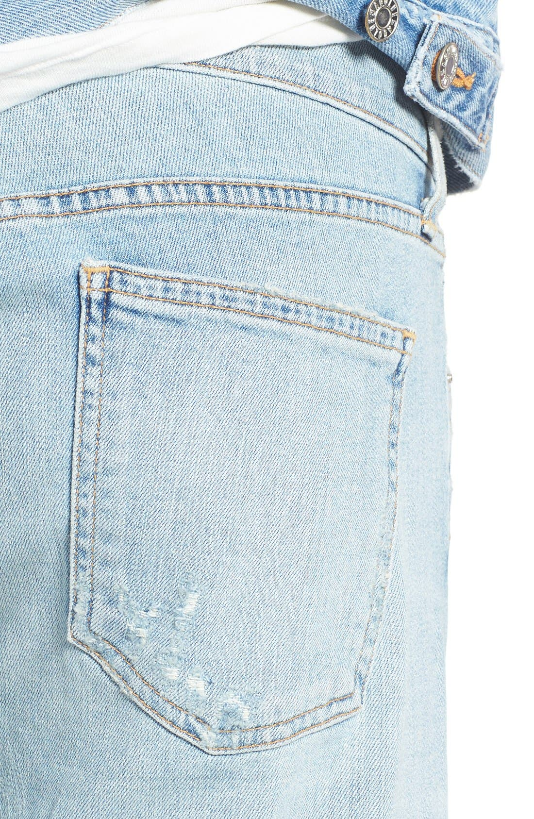 Alternate Image 5  - AGOLDE Skinny Fit Distressed Jeans (Pixx) (Men)