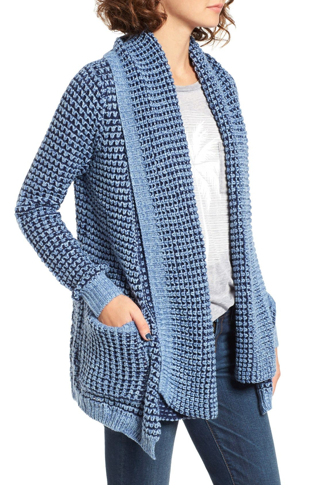 Alternate Image 3  - Rip Curl Shambala Knit Cardigan