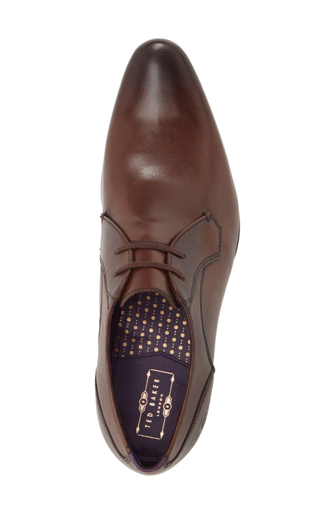 Alternate Image 3  - Ted Baker London 'Martt 2' Plain Toe Derby (Men)