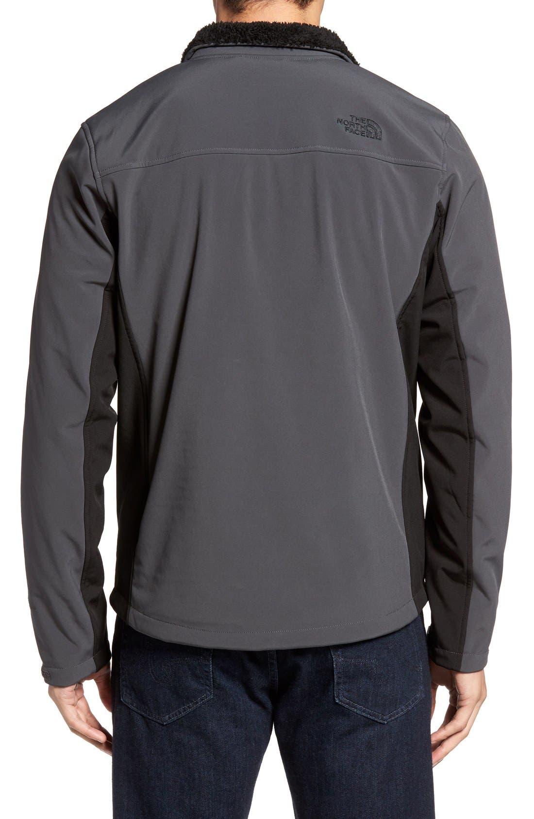 'Apex Chromium' Waterproof Thermal Jacket,                             Alternate thumbnail 2, color,                             Asphalt Grey/ Tnf Black