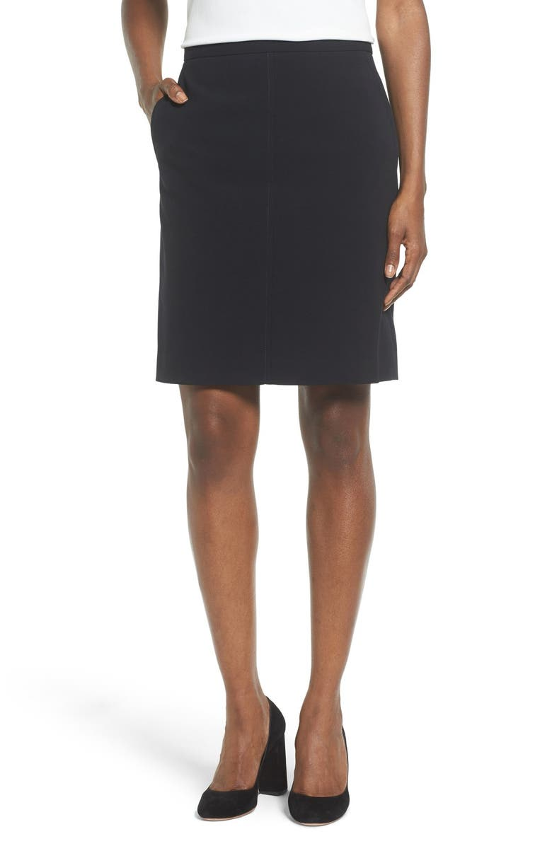 Two-Pocket Suit Skirt