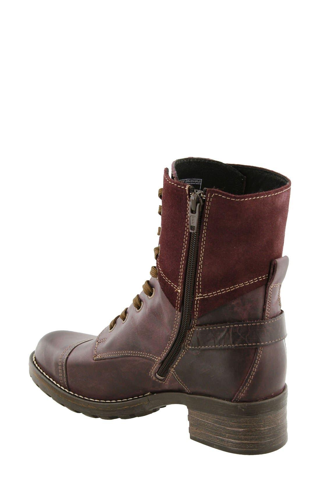 Crave Boot,                             Alternate thumbnail 2, color,                             Bordeaux Leather