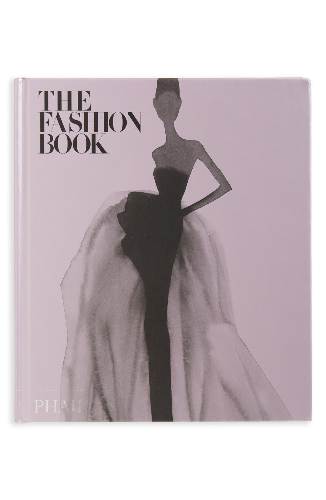'The Fashion Book' Book,                         Main,                         color, Purple