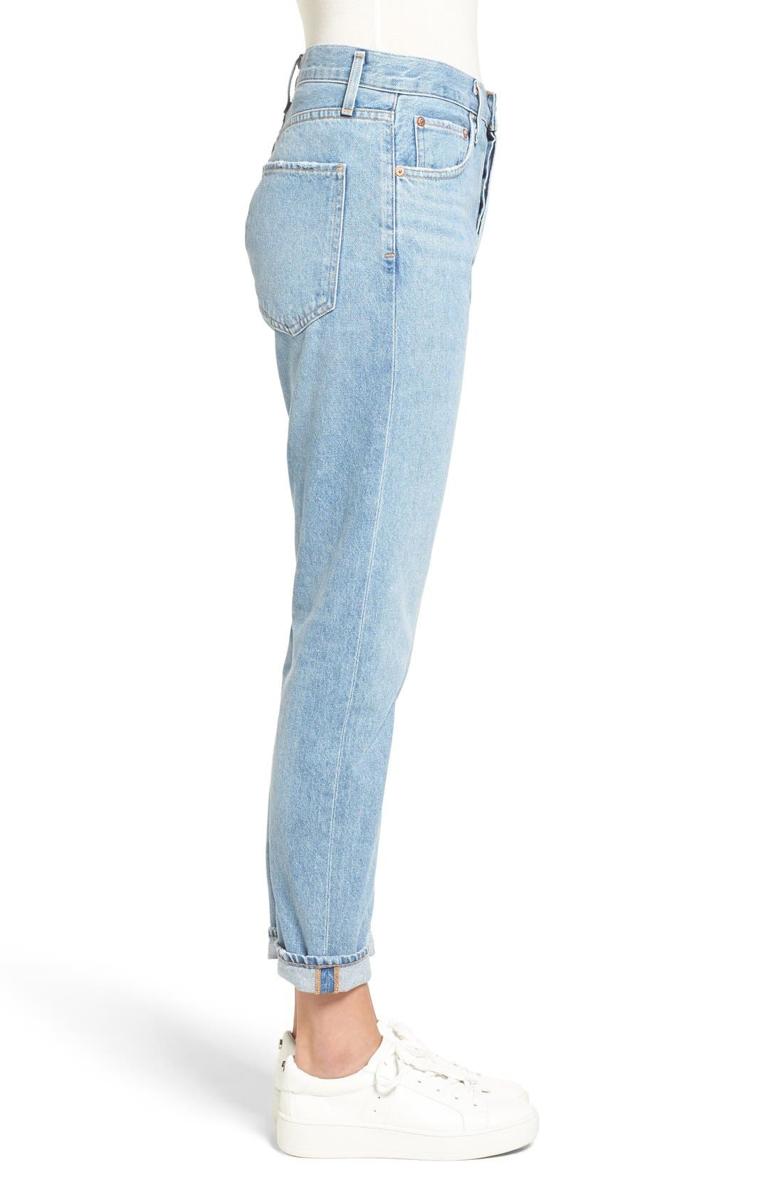 Alternate Image 3  - AGOLDE Jamie High Rise Classic Jeans (Women)