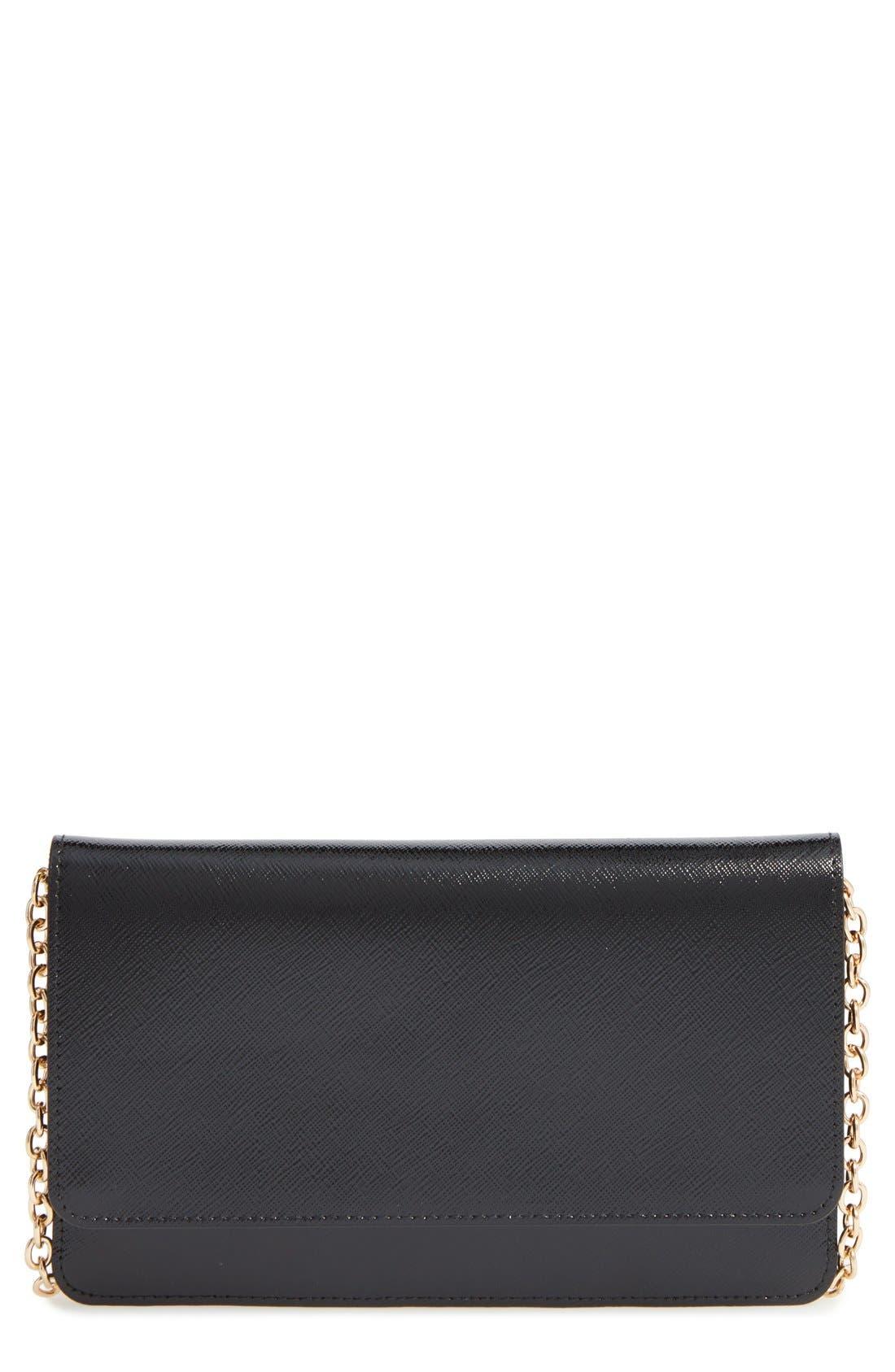 Alternate Image 1 Selected - Halogen® 'Eve' Leather Crossbody Bag