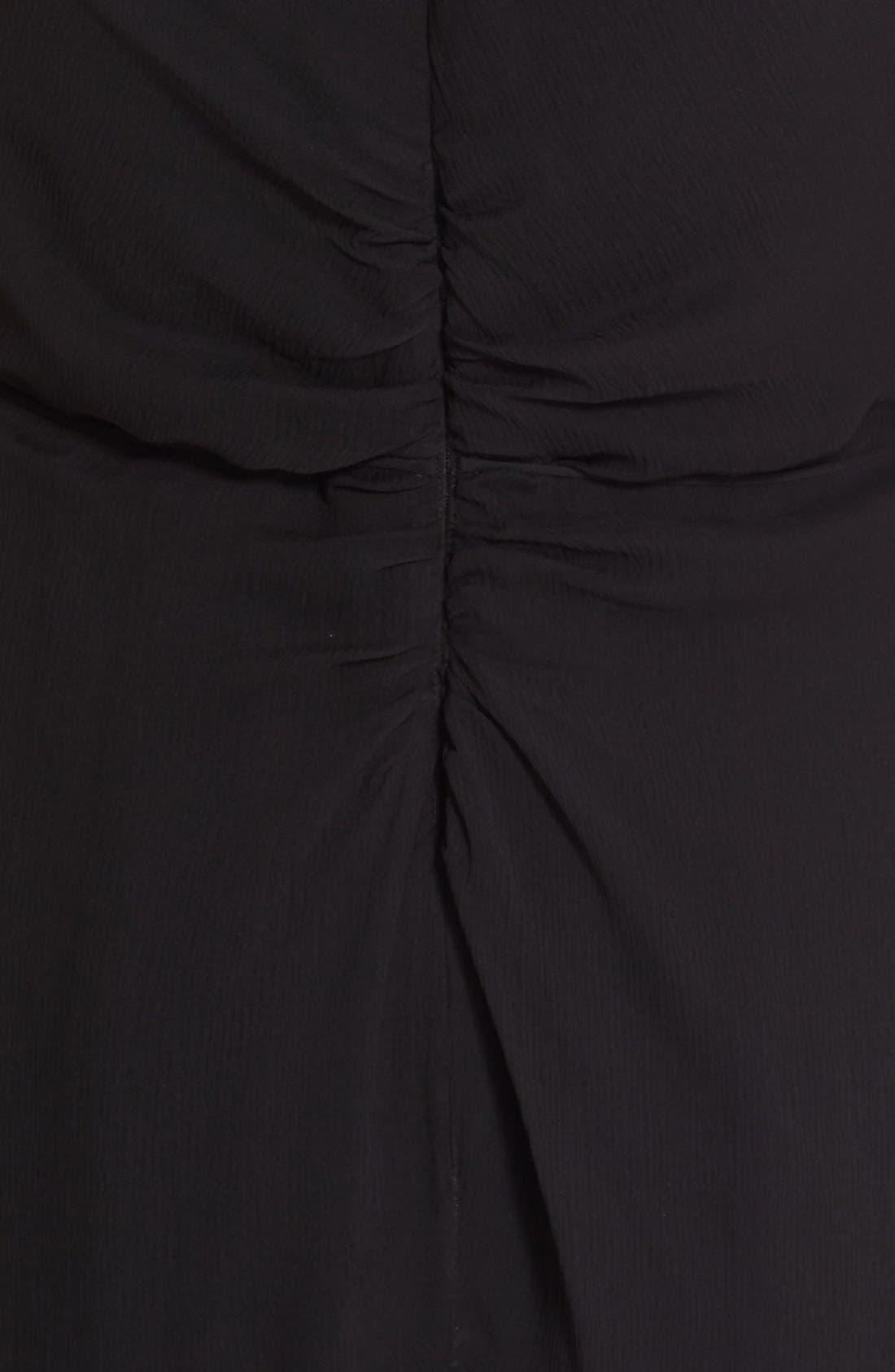 Alternate Image 3  - Carolina Herrera Ruffled Chiffon Column Gown