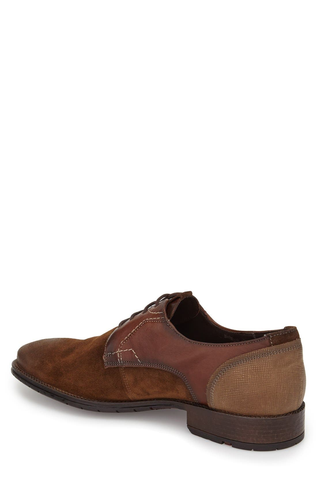 Alternate Image 2  - Lloyd Derek Plain Toe Derby (Men)