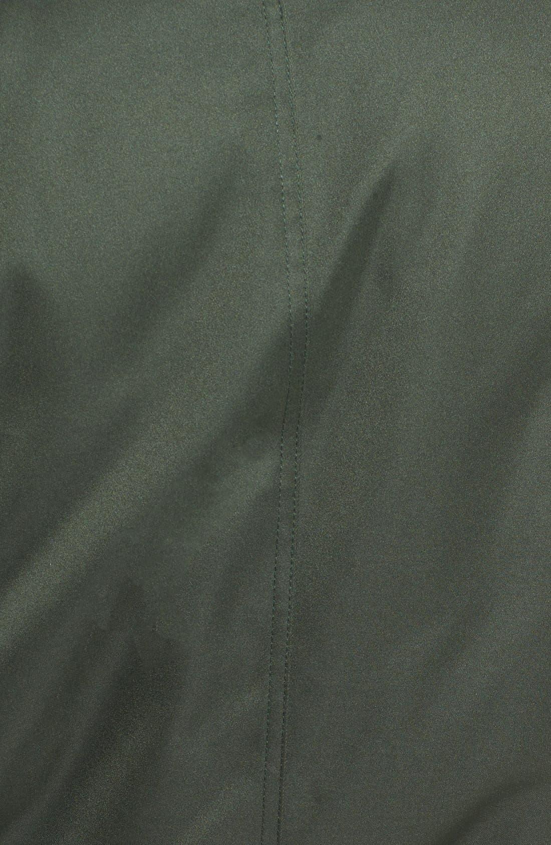 Alternate Image 5  - BB Dakota Atwood Satin Bomber Jacket