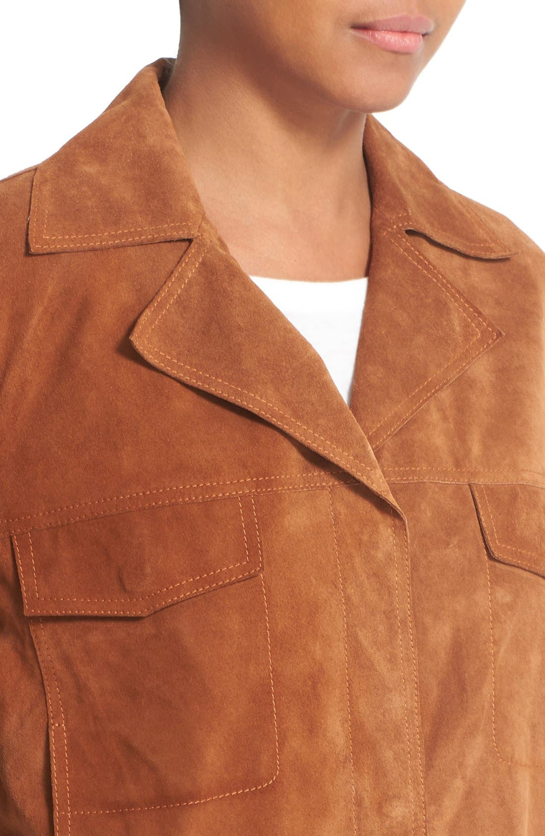 Alternate Image 5  - Vince Suede Jean Moto Jacket