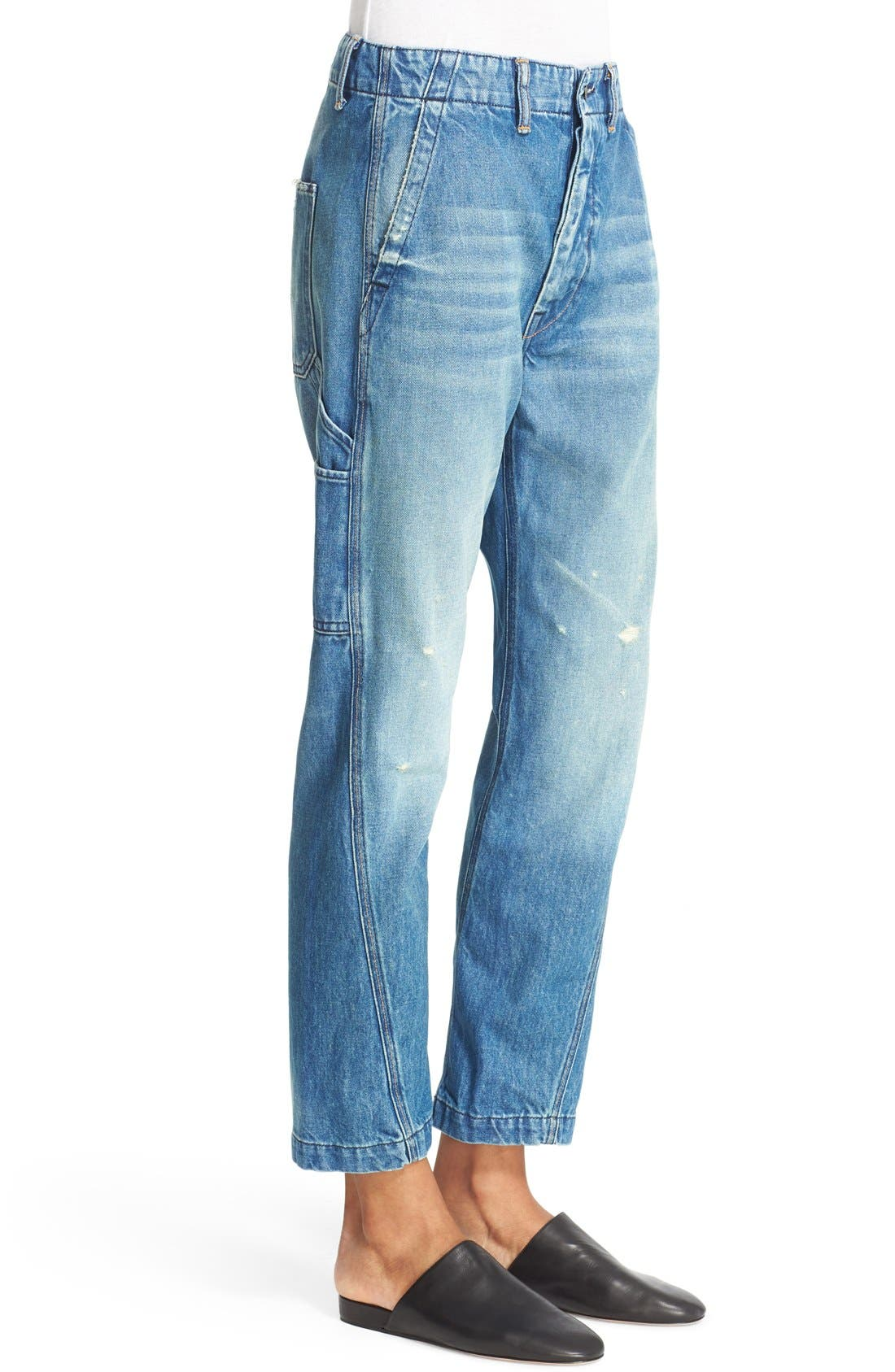 Alternate Image 4  - Vince Slouch Carpenter Jeans (Heritage)