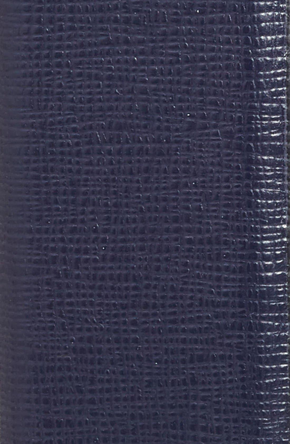 Leather Belt,                             Alternate thumbnail 2, color,                             Ink