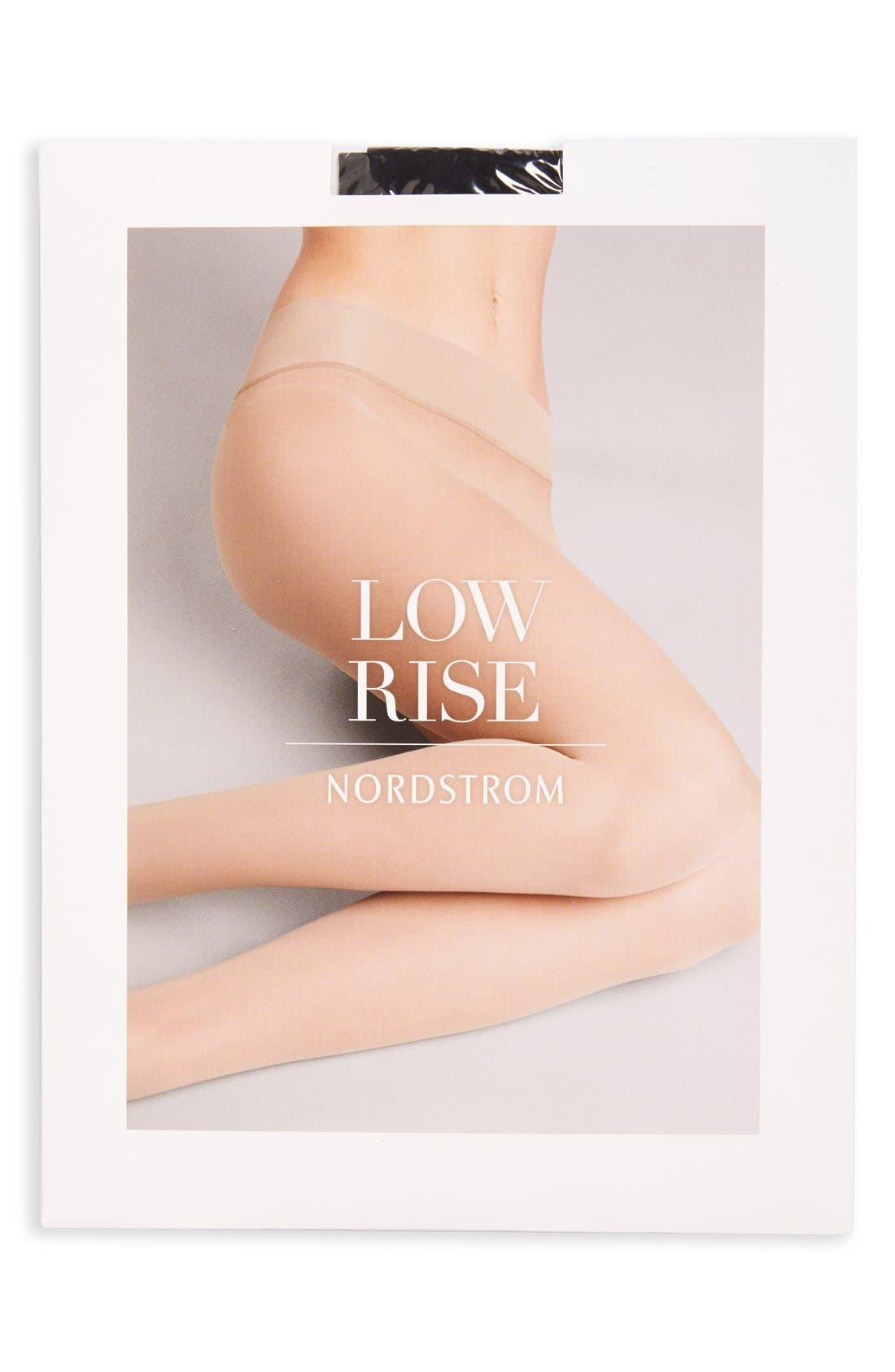 Alternate Image 2  - Nordstrom Low Rise Sheer Pantyhose