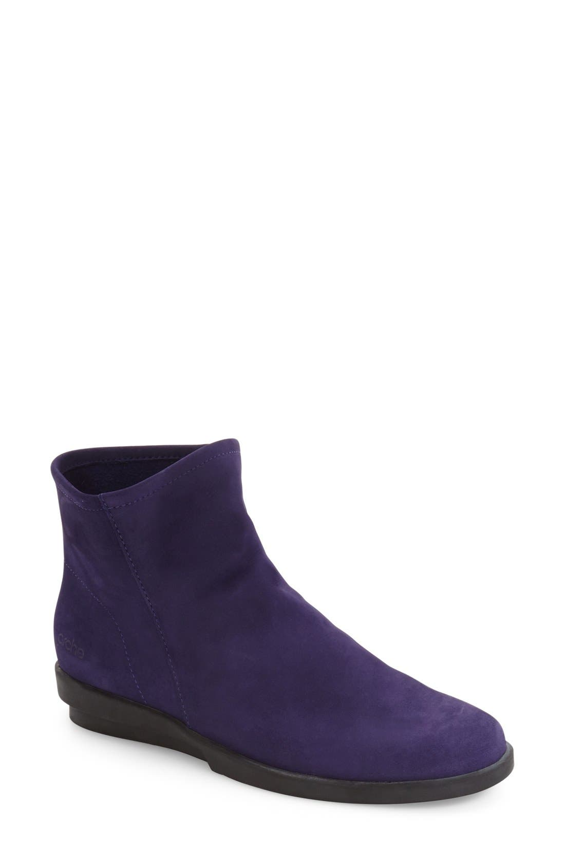 Alternate Image 1 Selected - Arche 'Detyam' Wedge Zip Bootie (Women)