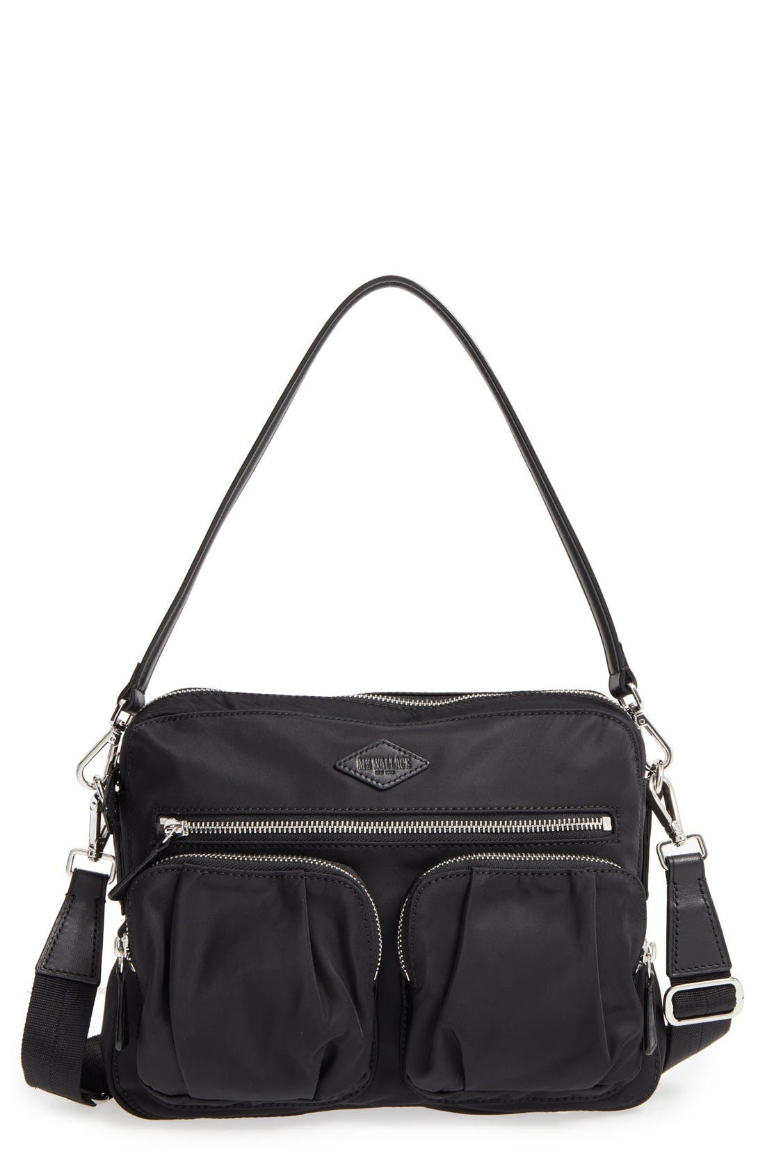 MZ WALLACE Small Roxy Bedford Nylon Shoulder Bag
