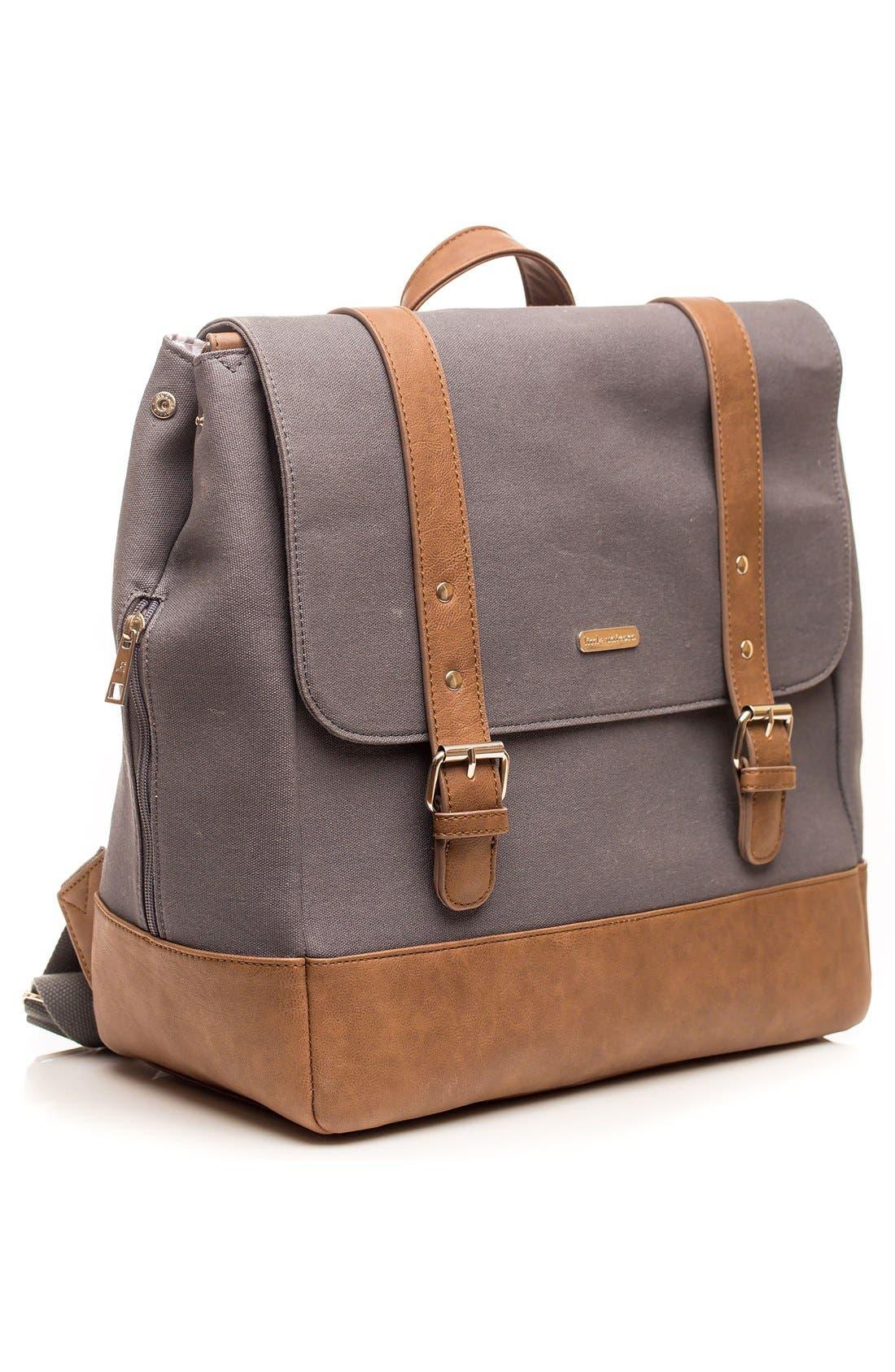 Marindale Diaper Backpack,                             Alternate thumbnail 3, color,                             Grey