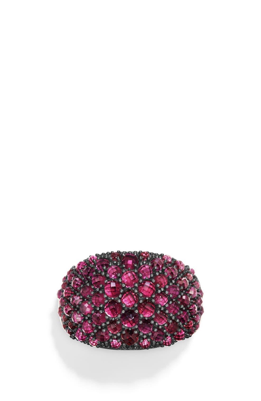 Osetra Dome Ring,                         Main,                         color, Rhodalite