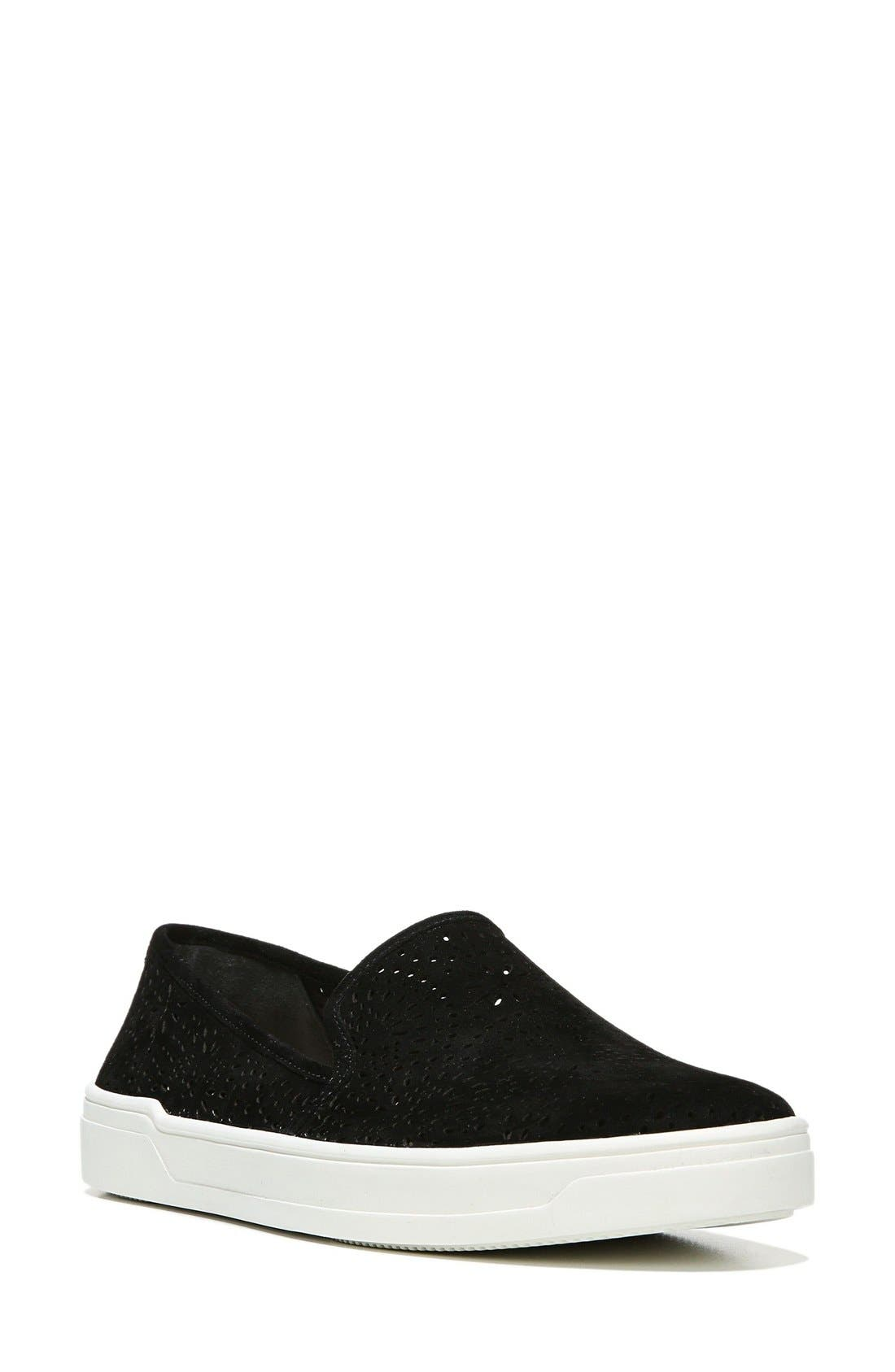 Main Image - Via Spiga Gavra Perforated Slip-On Sneaker (Women)