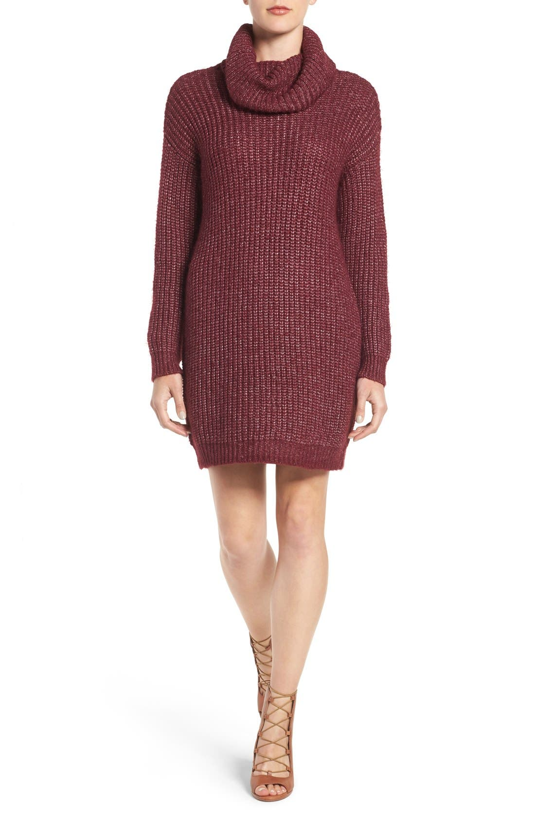 Alternate Image 1 Selected - cupcakes and cashmere Ventura Sweater Dress