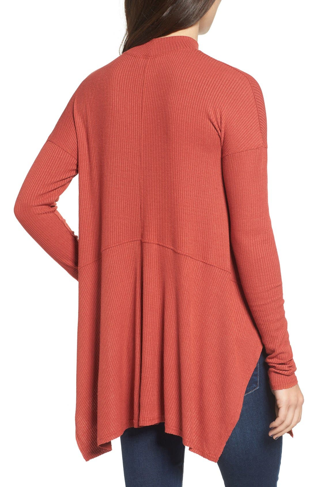 Alternate Image 2  - Sun & Shadow Mock Neck Knit Tunic