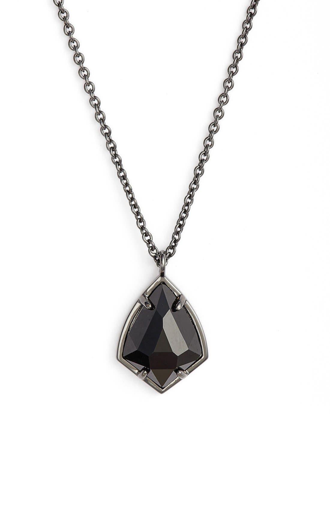 KENDRA SCOTT Cory Semiprecious Stone Pendant Necklace