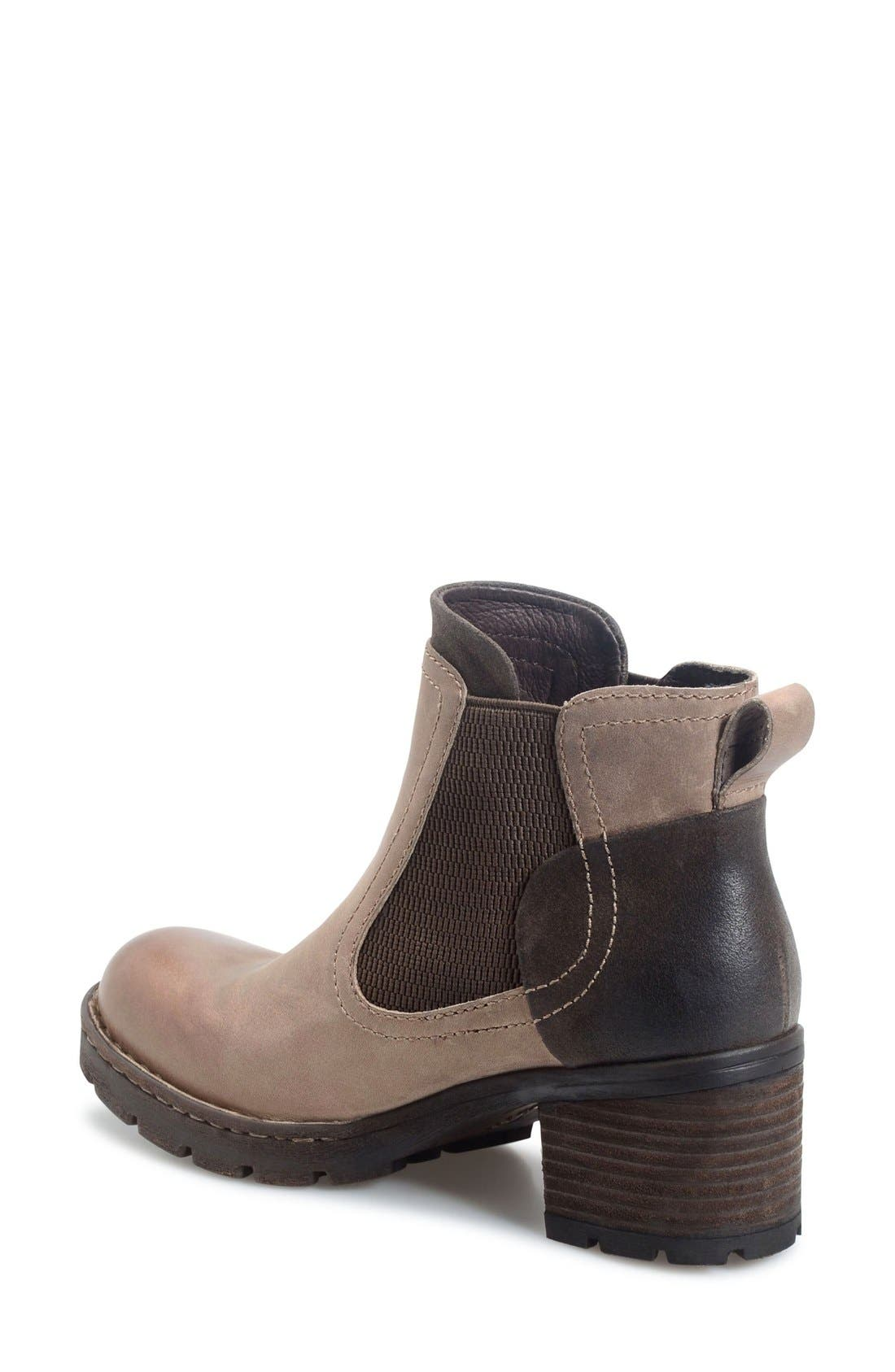 Madyson Chelsea Boot,                             Alternate thumbnail 2, color,                             Mouse Leather