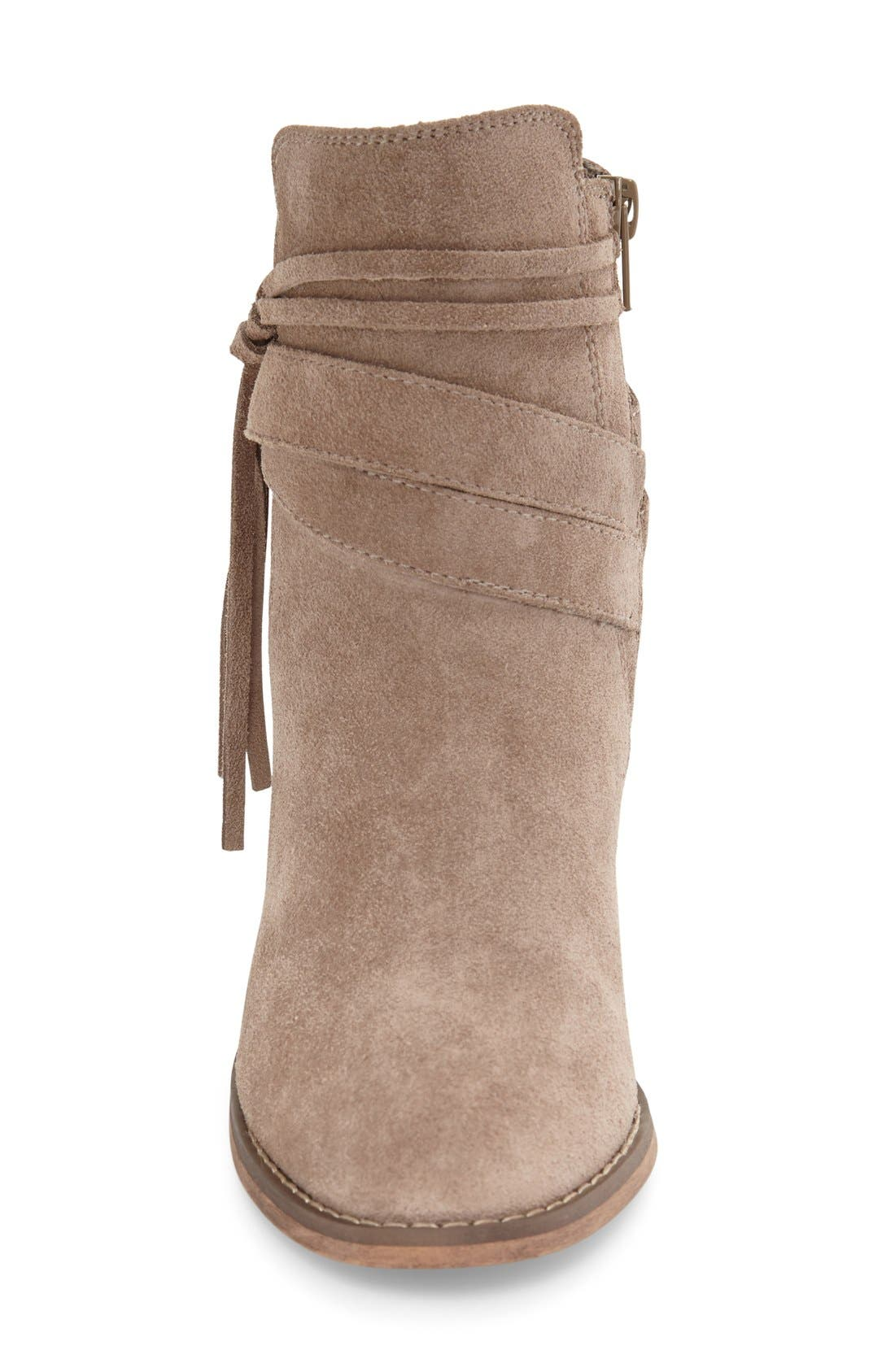 Rumi Bootie,                             Alternate thumbnail 3, color,                             Taupe