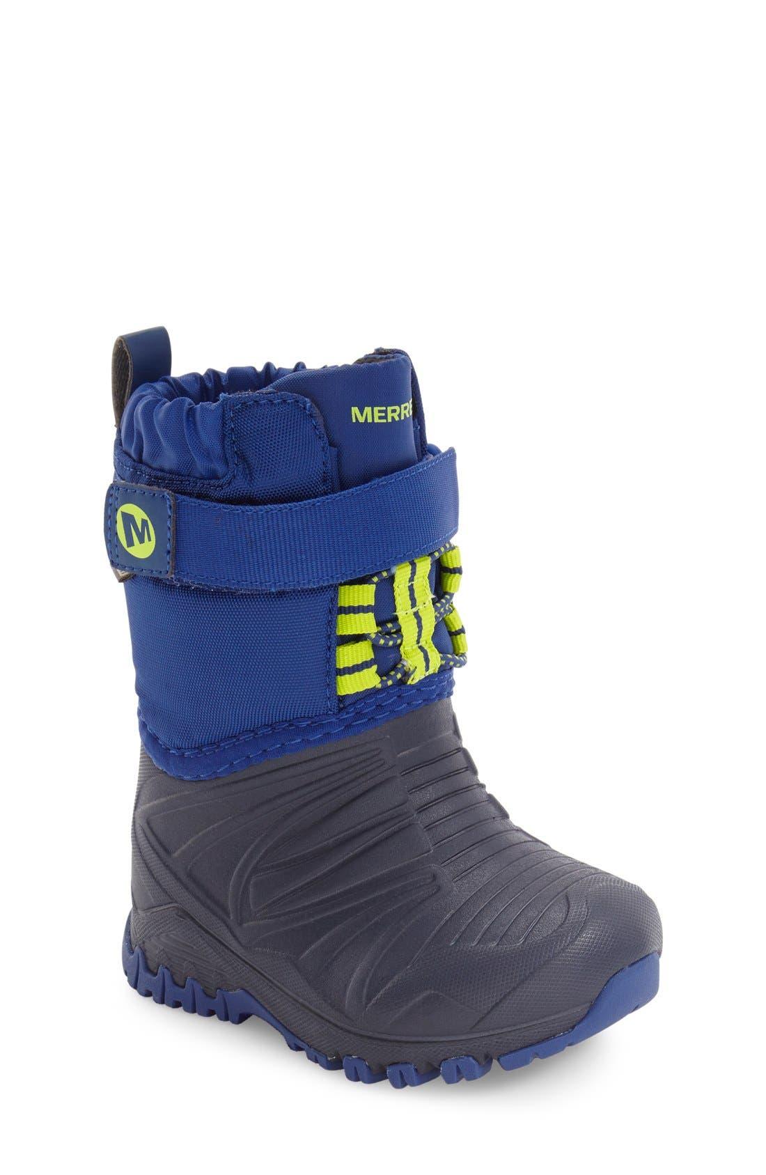 Merrell Snow Quest Lite Waterproof Snow Boot (Walker & Toddler)