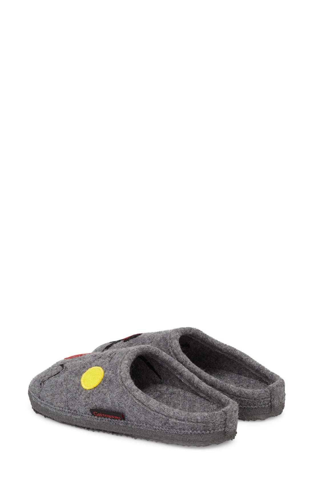 Molly Slipper,                             Alternate thumbnail 2, color,                             Slate Wool